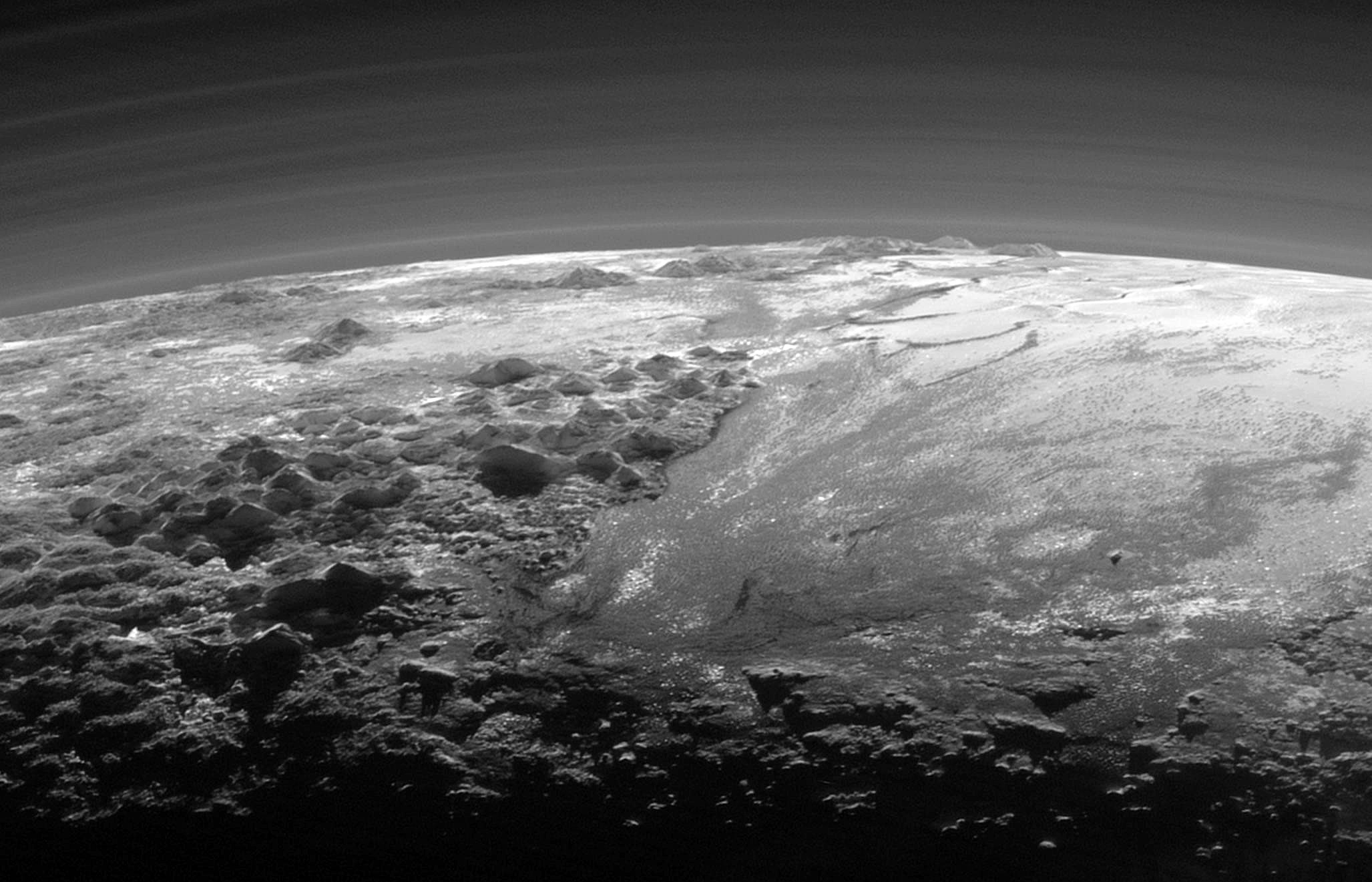 NASA scientists create spectacular flyover video of Pluto's moon Charon