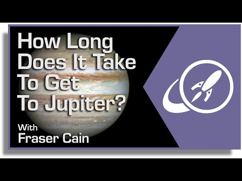 How Long Does It Take to Get to Jupiter? - Universe Today