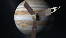 NASA's Juno spacecraft launched on August 6, 2011 and should arrive at Jupiter on July 4, 2016. Credit: NASA / JPL