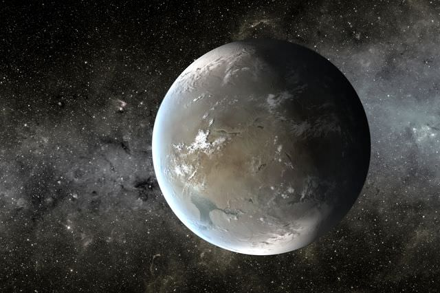 Exoplanet Kepler 62f would need an atmosphere rich in carbon dioxide for water to be in liquid form. Artist's Illustration: NASA Ames/JPL-Caltech/T. Pyle