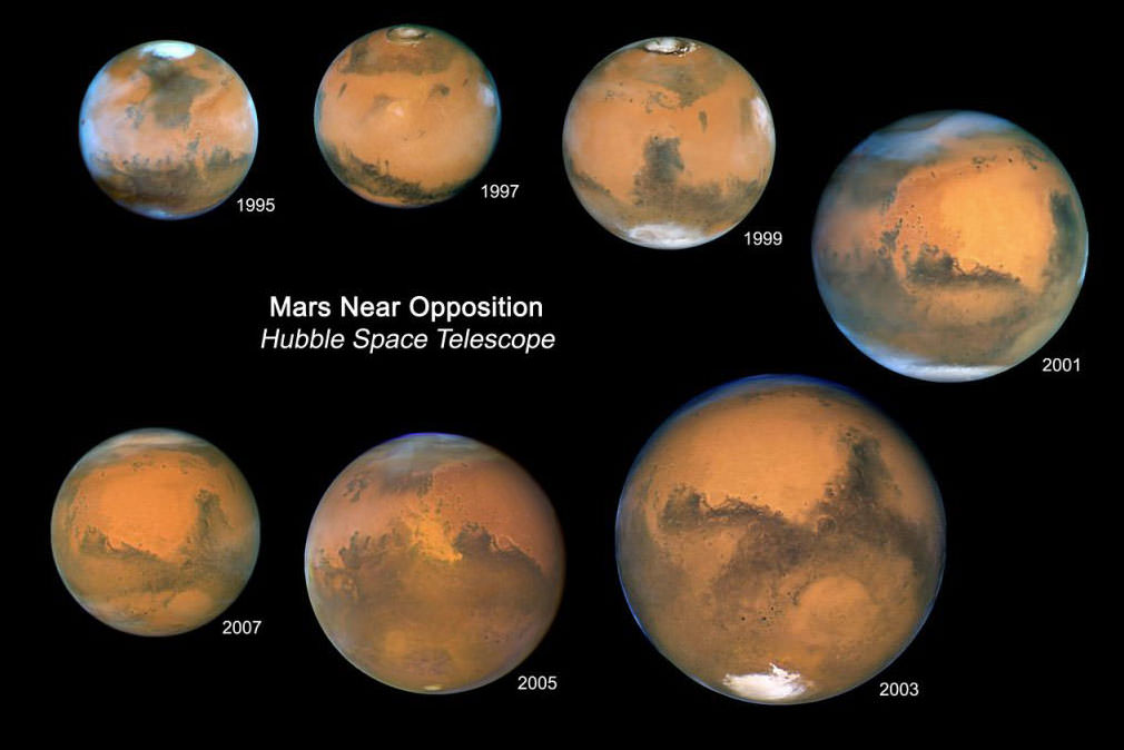 Hubble Telescope Zooms In On Mars - Universe Today