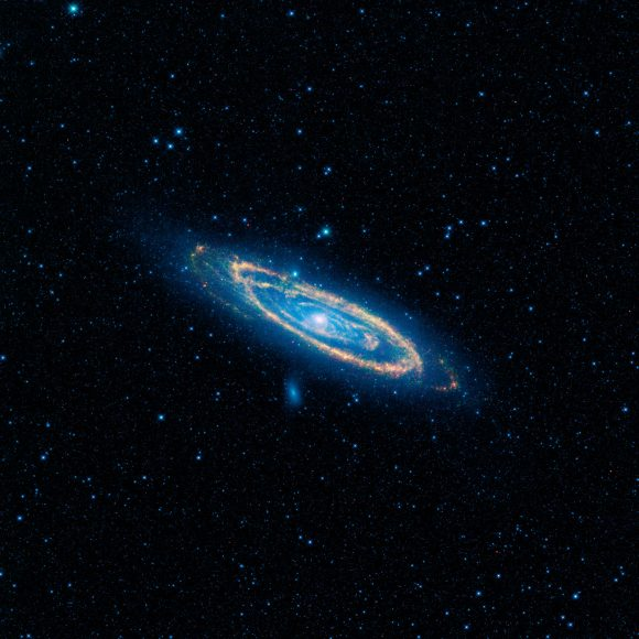 The Andromeda Galaxy. Credit: NASA/JPL-Caltech/WISE Team