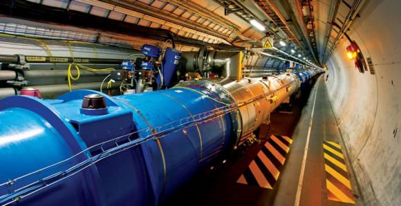 The Large Hadron Collider is the most powerful particle accelerator in the world. Image: CERN