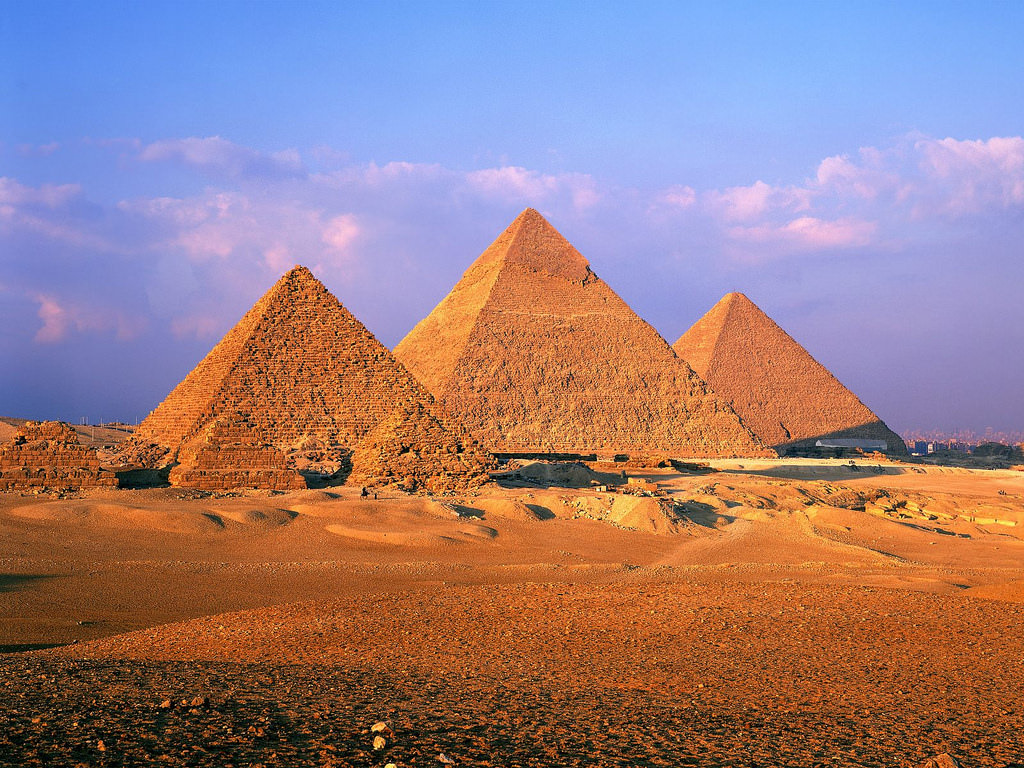 The Egyptian Pyramids; instantly recognizable to almost anyone. Image: Armstrong White, CC BY 2.0