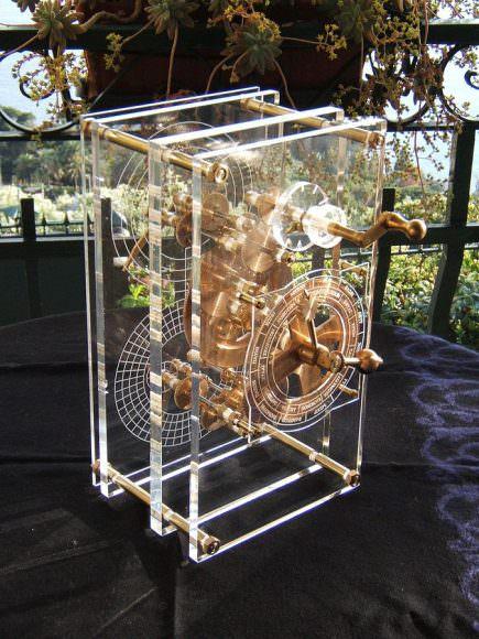 A 2007 recreation of the Antikythera Mechanism. Image: I, Mogi, CC BY 2.5