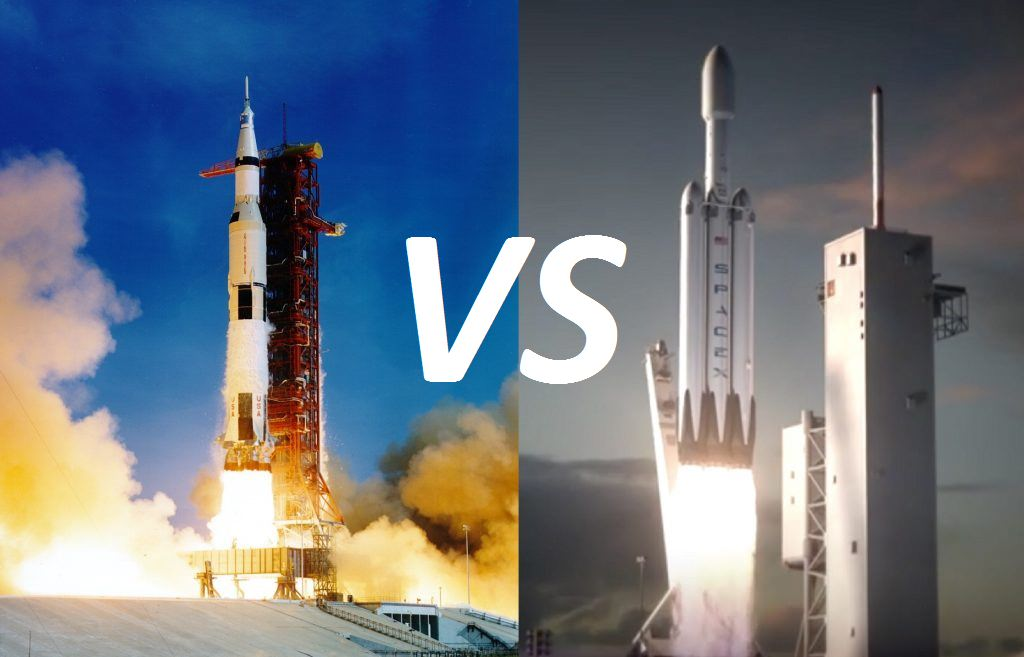 falcon heavy vs saturn 5 - photo #1
