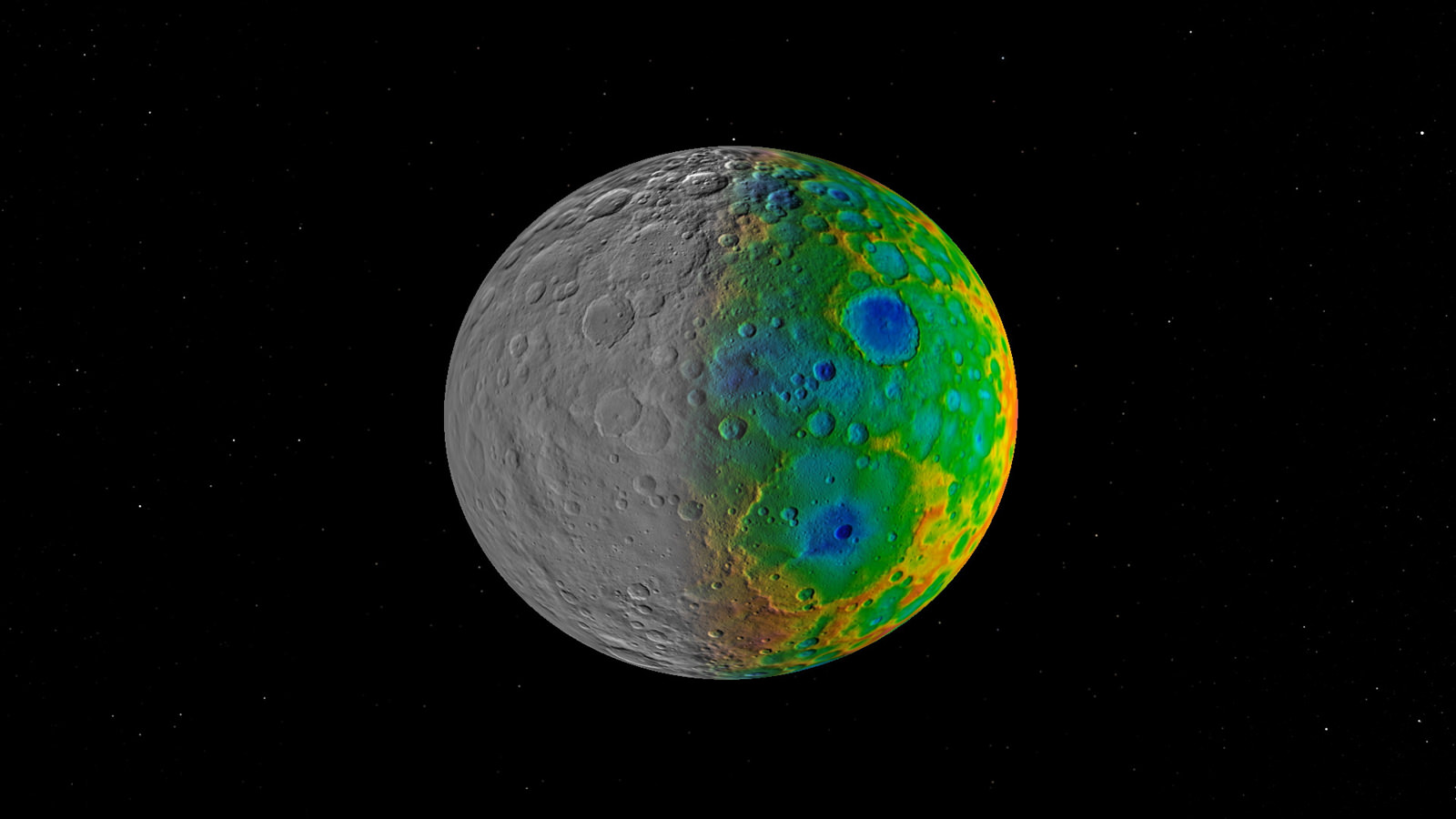 Large Impact Craters on Ceres Have Gone Missing - Universe ...