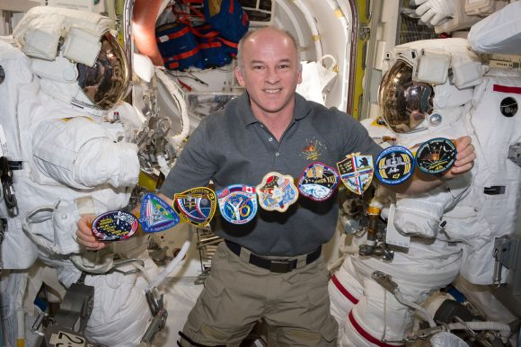 Astronaut Jeff Williams just established a new record for most time spent in space by a NASA astronaut. Credit: NASA