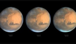 Mars as seen from Earth on June 13, 2016. Credit and copyright: Damian Peach.