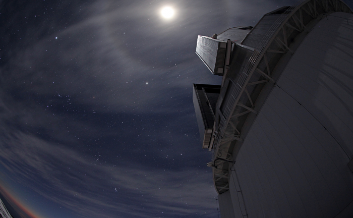 The Subaru Telescope atop Mauna Kea. CHARIS works in conjunction with Subaru. Image: Dr. Hideaki Fujiwara - Subaru Telescope, NAOJ.
