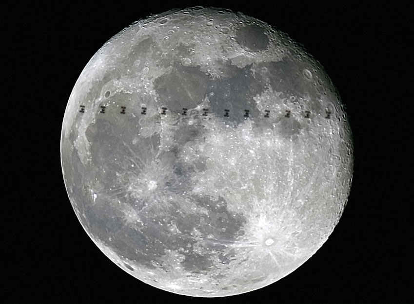 How to See the Space Station Fly in Front of the Moon - Universe Today