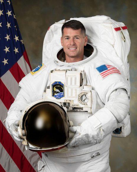 NASA astronaut Shane Kimbrough, who took the soccer ball into space. Image: NASA