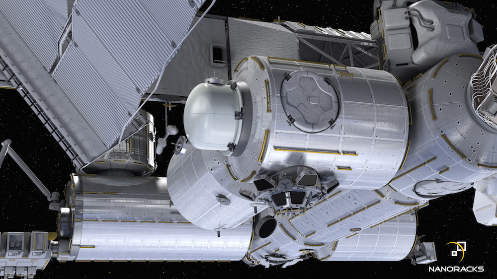 NASA Approves First Commercial Airlock for Space Station ...