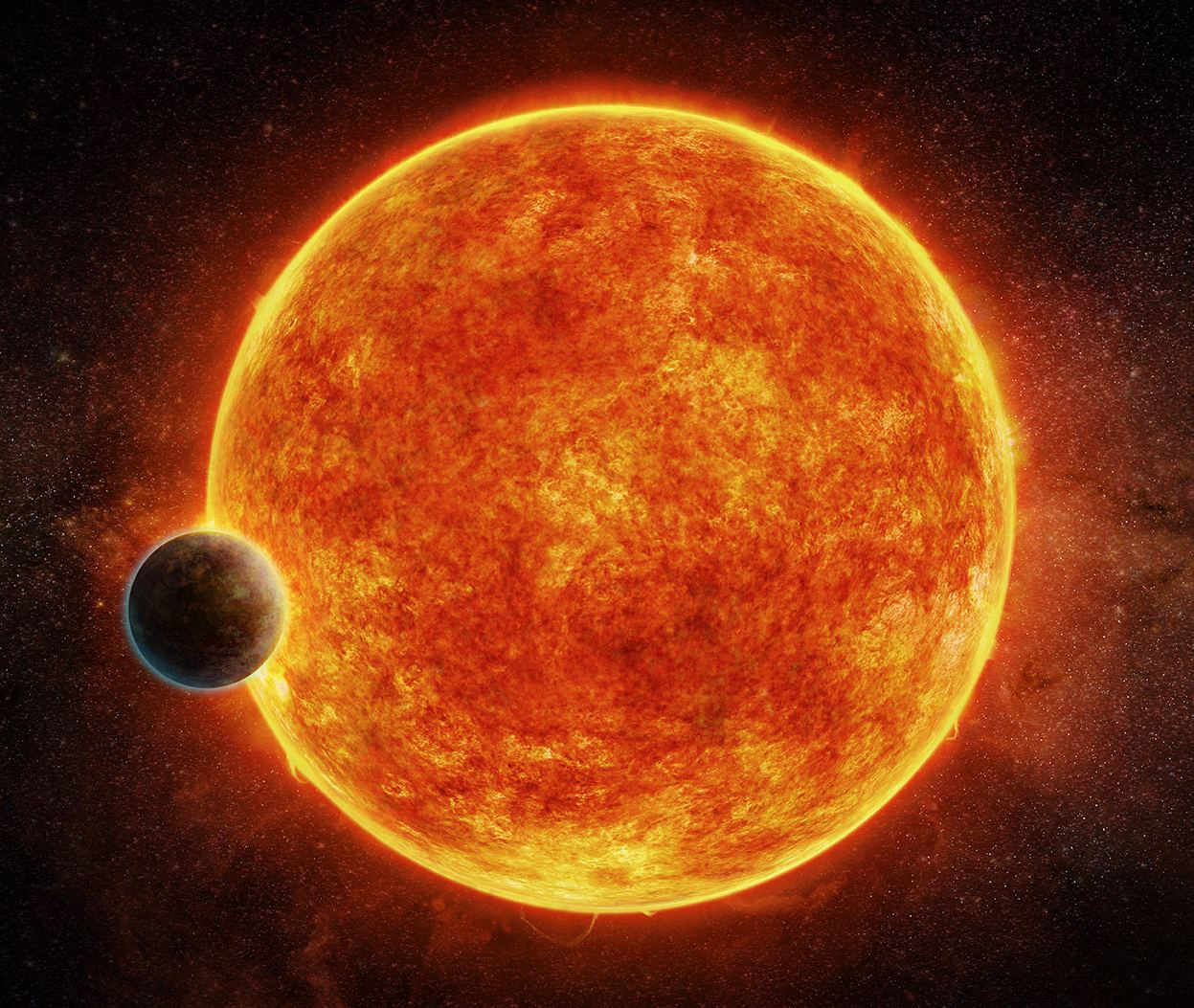 Earth-Sized Planet Takes Just Four Hours to Orbit its Star ...