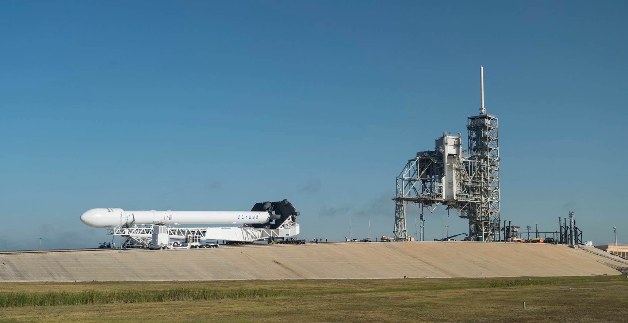 SpaceX launch planned for Monday night