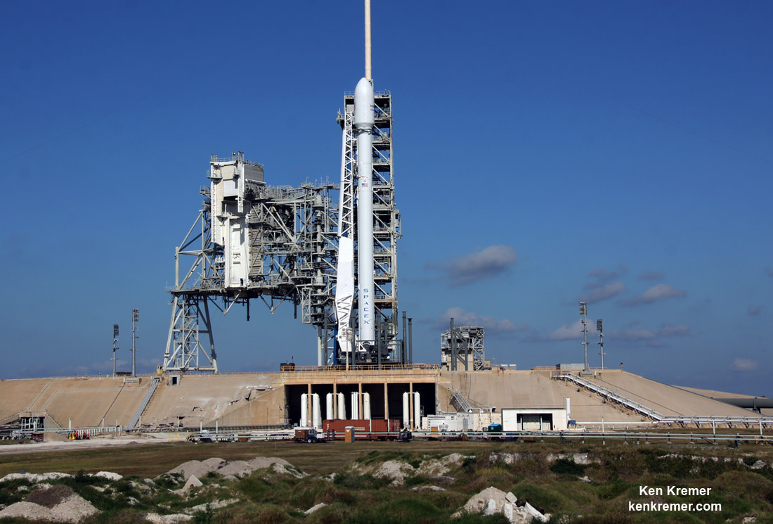 SpaceX Targeting Twilight Thunder for May 15 Inmarsat