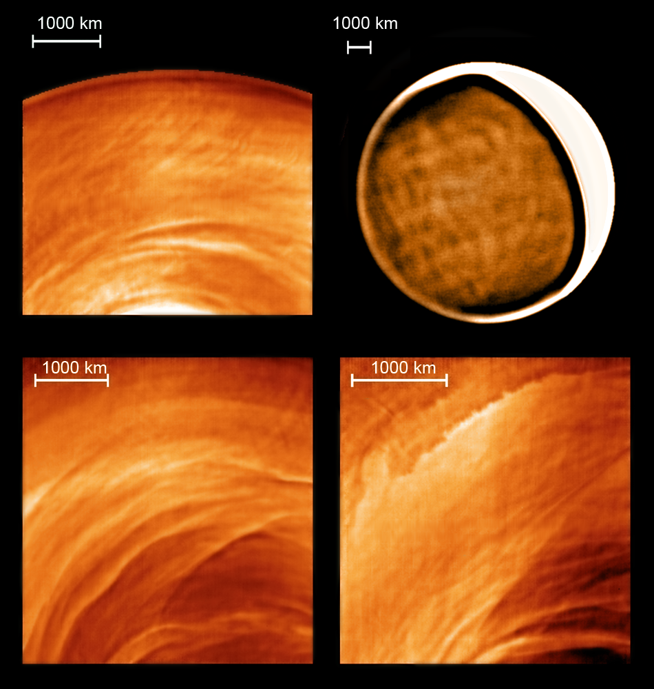 Infrared Waves Examples Venus Express Probe Re...