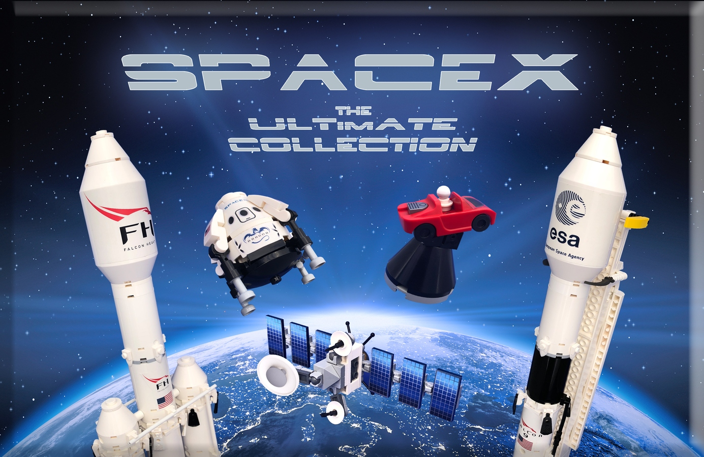 Come Vote And Turn This Spacex Lego Set Into A Reality Universe Today
