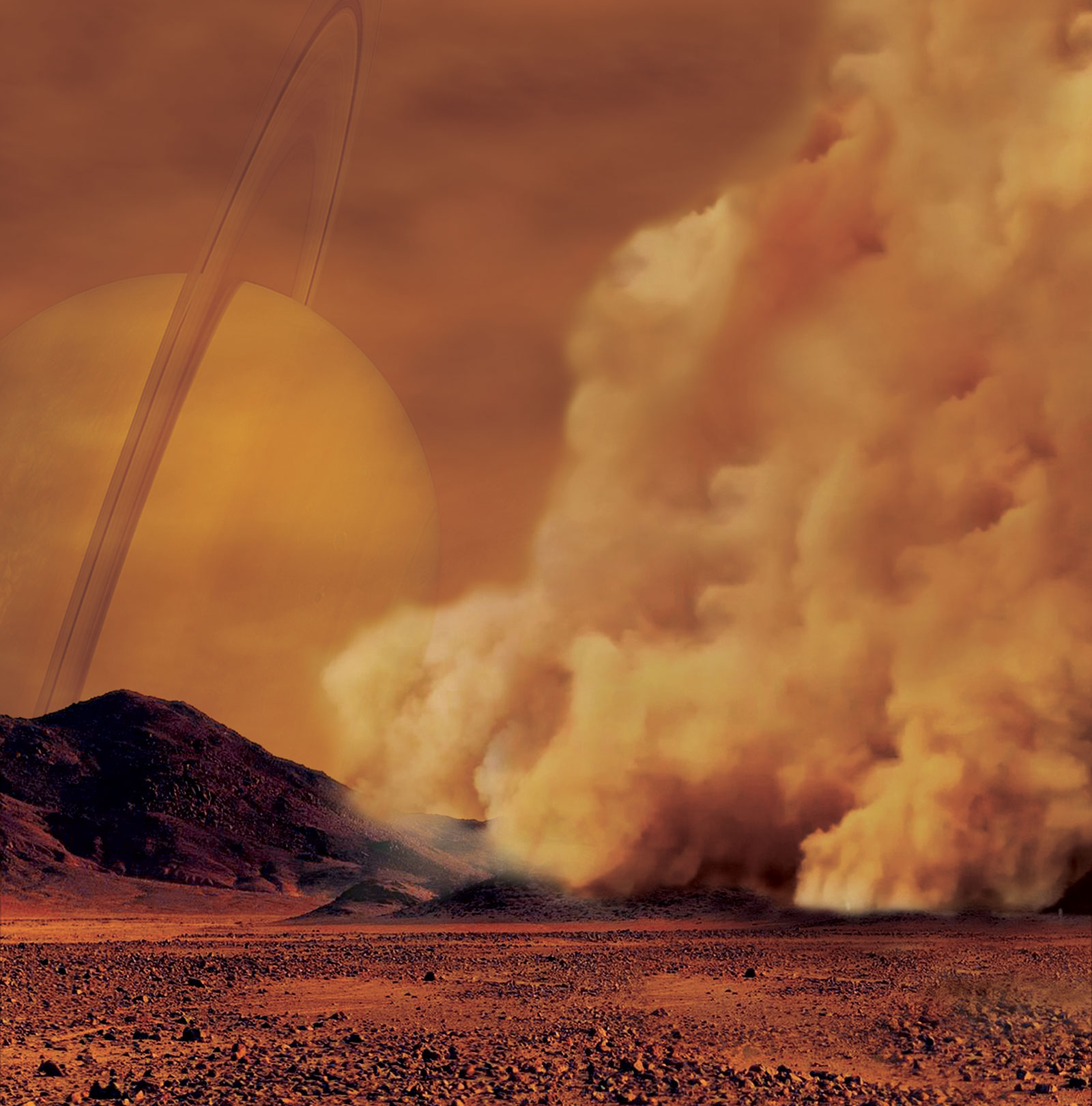 Titan First-Ever Detected Dust Storms Proves the Moon to be More Earth-like than Ever
