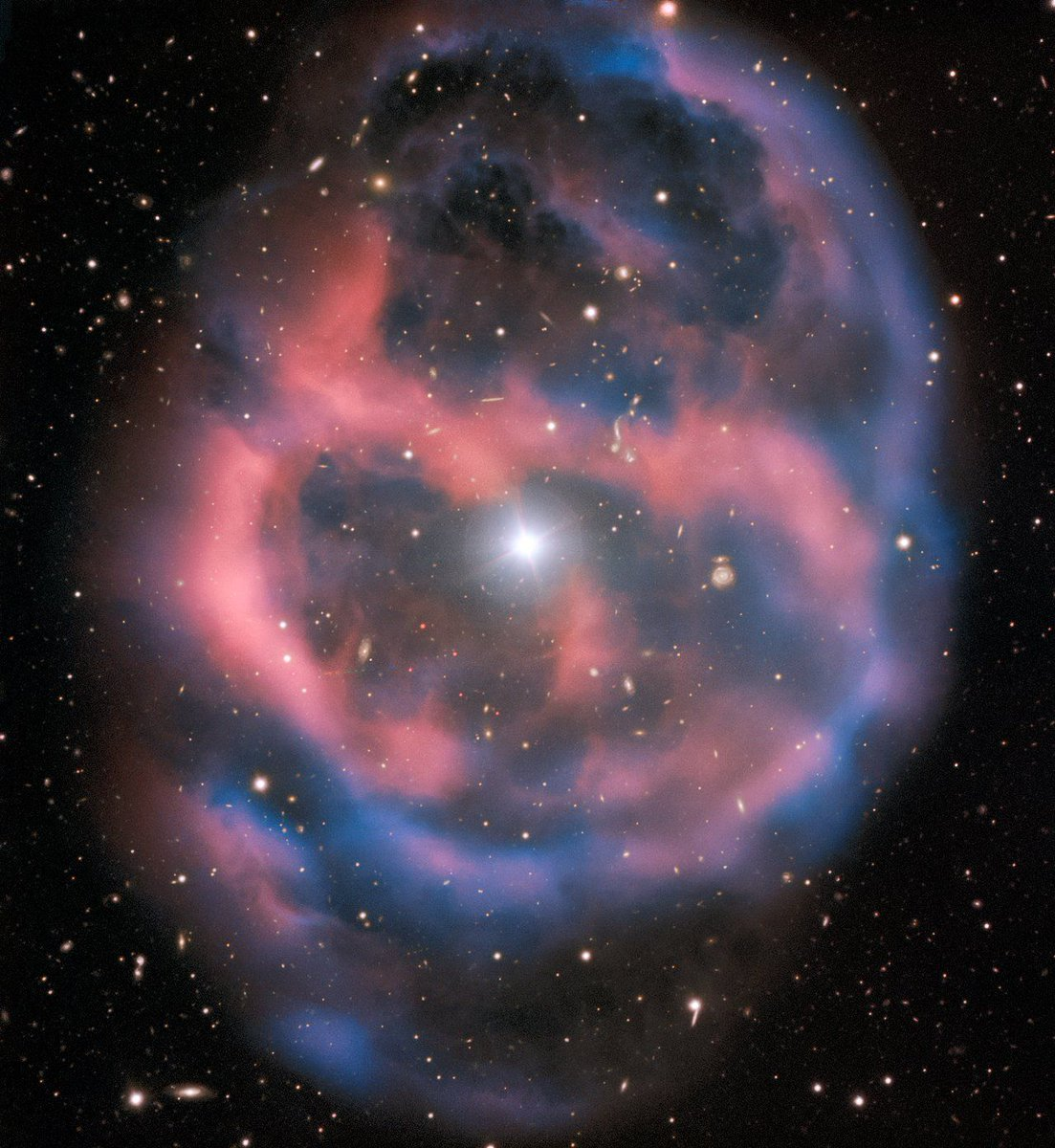 A Planetary Nebula Like This Will Only Be Visible For