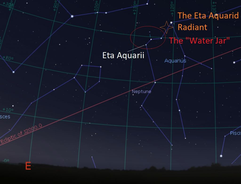 Eta Aquarid Meteor Shower