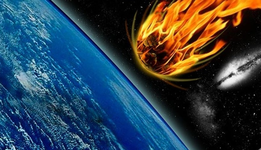 1 2 billion years ago, a 1-km asteroid smashed into Scotland
