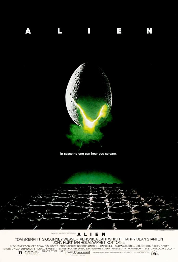 The 1979 film Alien needs no introduction. Image Credit: 20th Century Fox