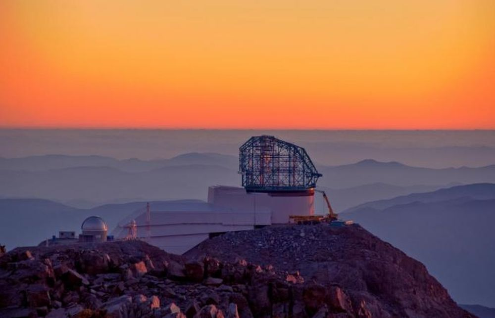 The LSST, or Vera Rubin Survey Telescope, under construction at Cerro Pachon, Chile. Once it's active, we should be able to spot many more interstellar objects as they visit our Solar System. Image Credit: LSST