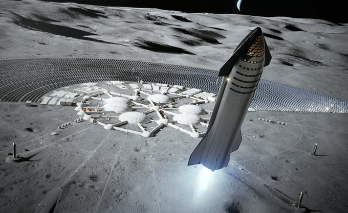 SpaceX is Sure They'll be Able to Land Starship on the Moon in 2022
