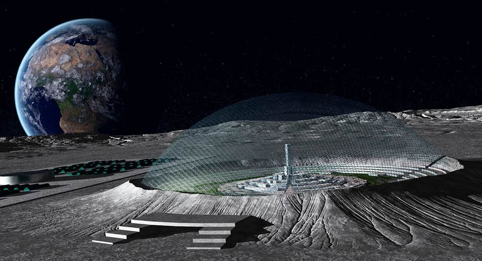 Future moon base