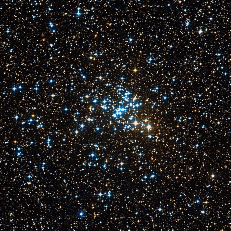 Messier 93 – the NGC 2447 Open Star Cluster