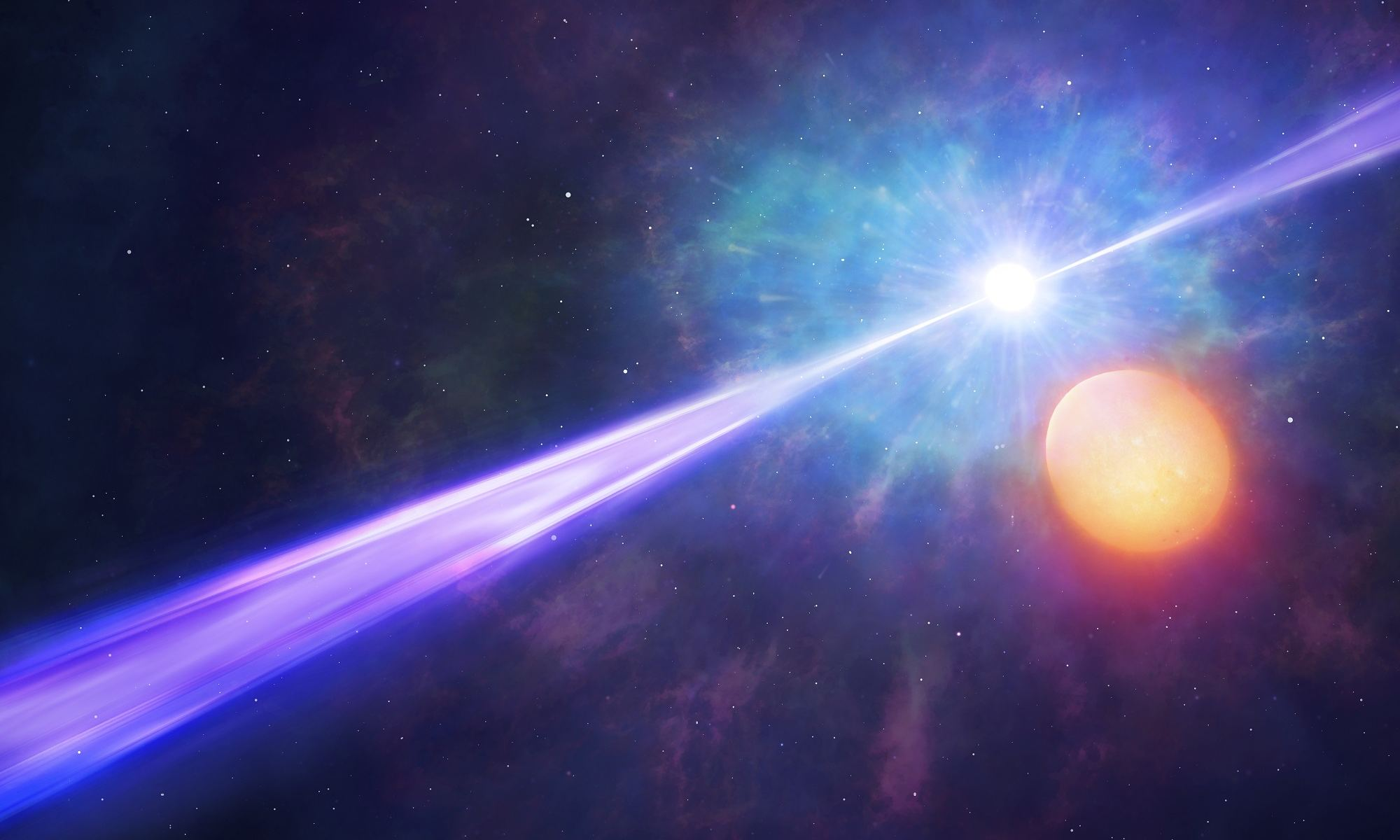 It Takes Two Stars to Make a Gamma Ray Burst - Universe Today