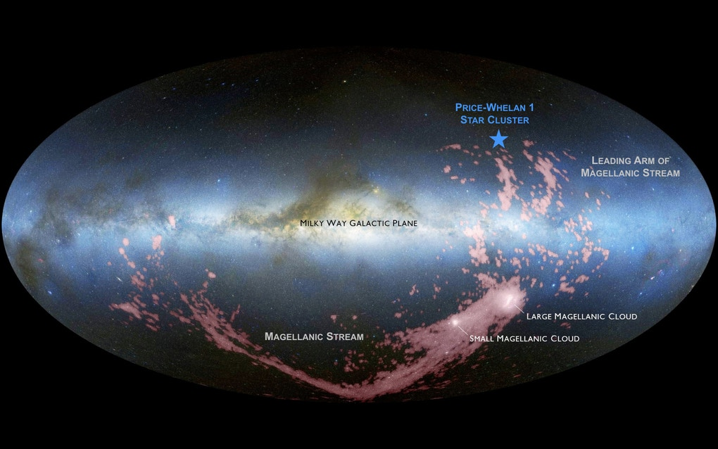 An Upcoming Impact With the Magellanic Clouds is Already Causing Star Formation in the Milky Way - Universe Today