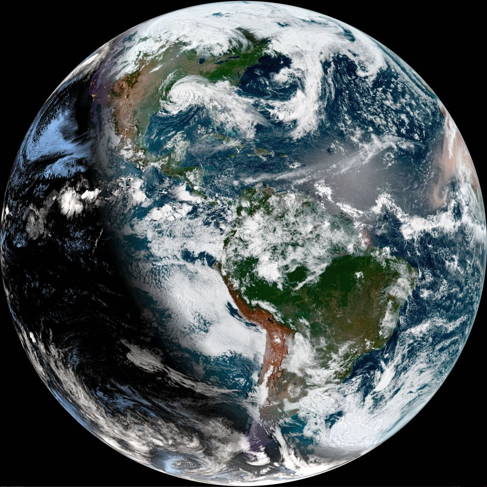 Earth is a warm, watery, wonderland now. Maybe more rocky planets started out that way, but eventually lost theirs. Image Credit: NASA Earth Observatory.