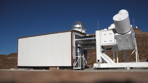 The WHAM telescope is at the Cerro-Tololo Inter-American Observatory in Chile. It's a completely robotic, remotely-controlled facility. Image Credit: WHAM/University of Wisconsin.