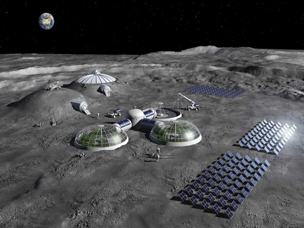 Chefs on the Moon Will be Cooking up Rocks to Make air and Water